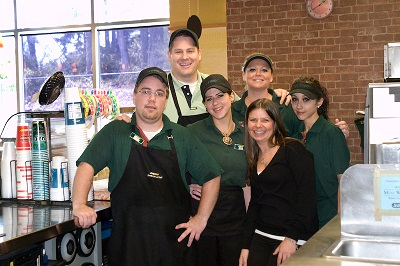 Dedicated team of sandwich artists in Gig Harbor, WA